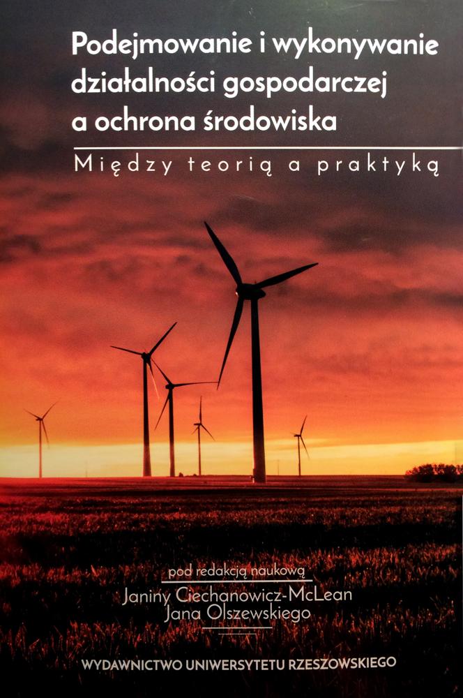 Podejmowanie iwykonywanie działalności gospodarczej aochrona środowiska