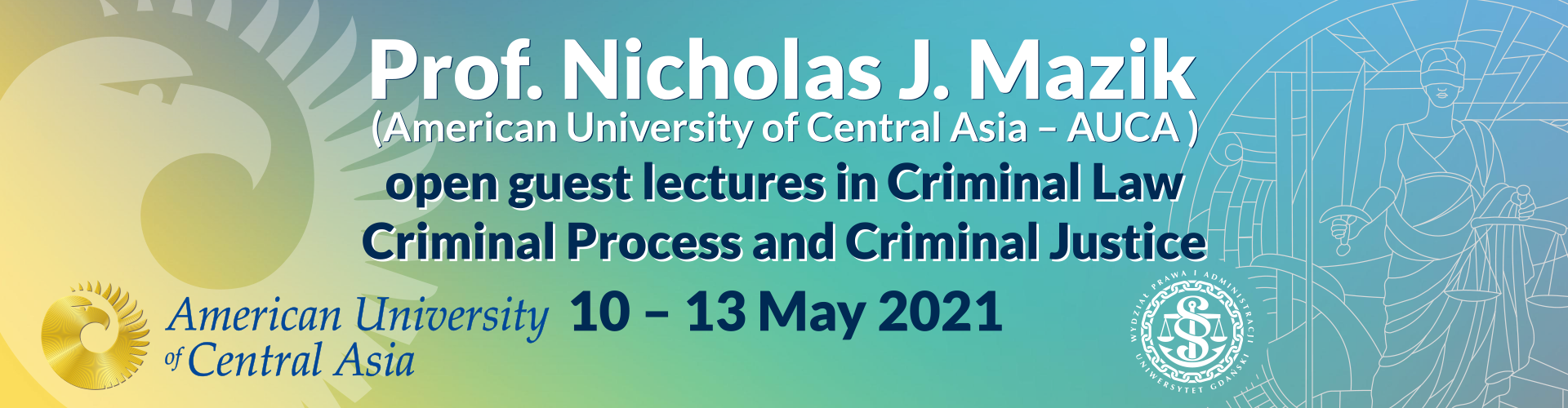 Guest lectures by Professor Nicholas J. Mazik