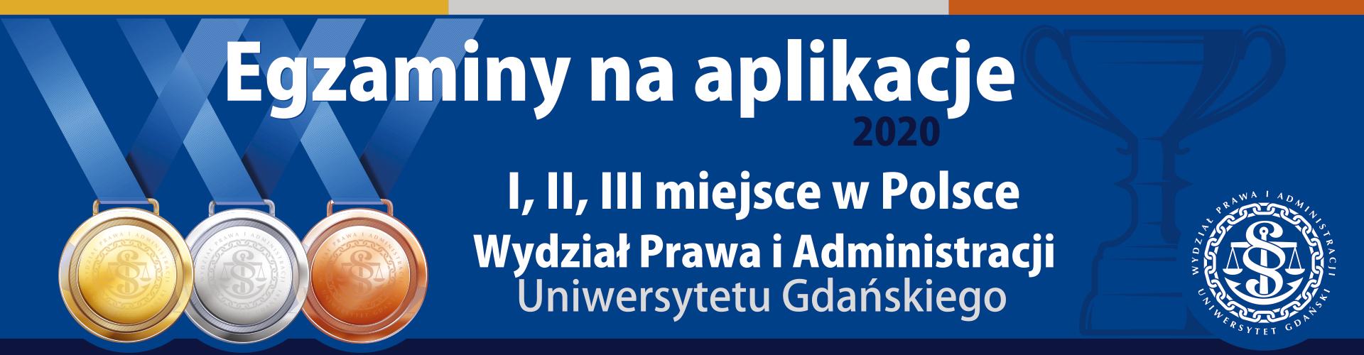 Świetne wyniki Absolwentów WPiA UG na egzaminach wstępnych na aplikacje