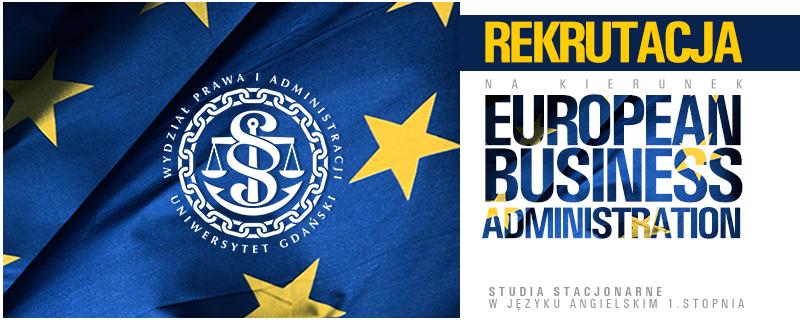 European Business Administration- rekrutacja