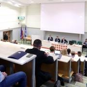 """Konferencja """"Działalność gospodarcza z udziałem Skarbu Państwa""""."""