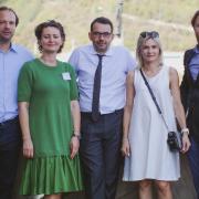 Pracownicy KPF i dr Małgorzata Wróblewska