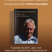 Spotkanie z Prof. Waltosiem