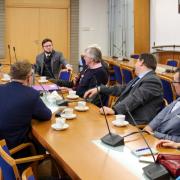 Okrągły Stół z Sędziami Międzynarodowego Trybunału Karnego w Hadze